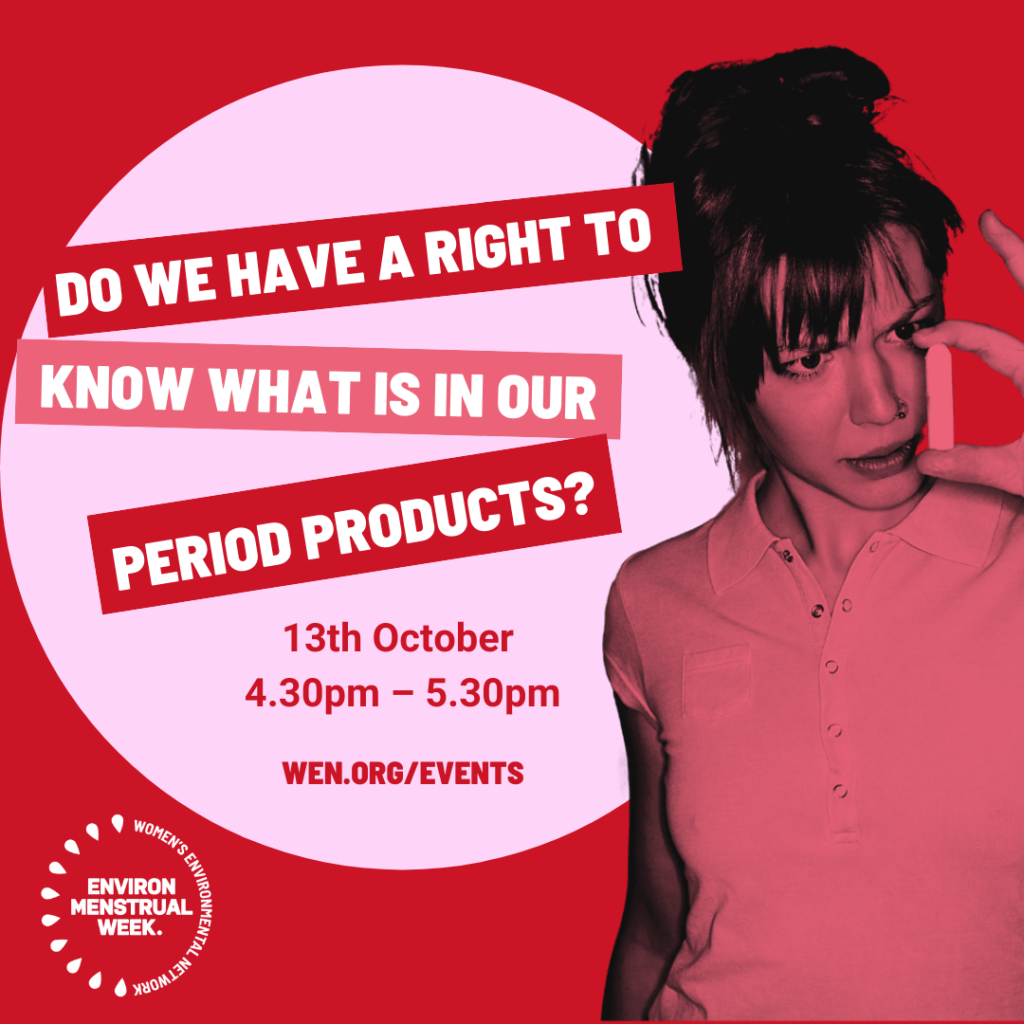 Environmenstrual Week 2021 event