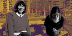 Linda and Maud, Sunny Hub Eco Hub - climate and food
